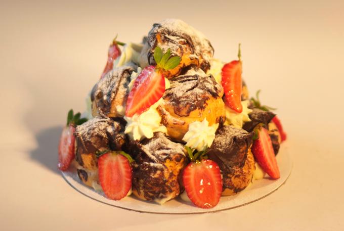 Profiterole Cake Cheesecake Shop